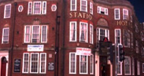 Station Hotel Ghost Hunt & Sleepover, Dudley, W. Midlands – Friday 19th December 2014