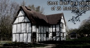 Avoncroft Museum Ghost Hunt, Bromsgrove, Worcestershire – Friday 6th February 2015