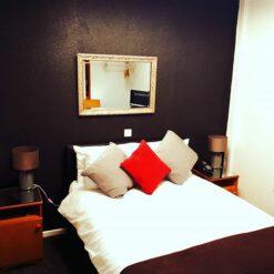 an image of the single room at dobbins inn