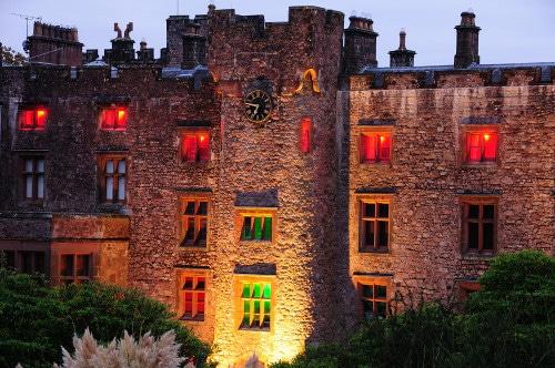 muncaster castle closeup