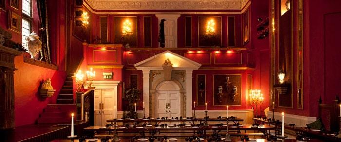 lumley castle banquet hall