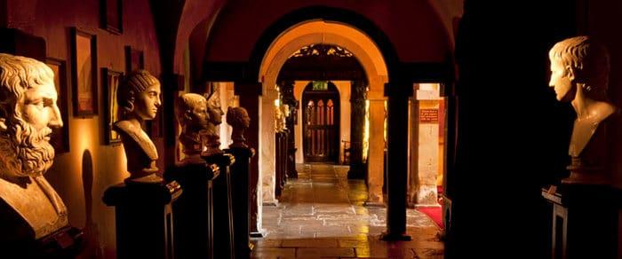 lumley castle corridor