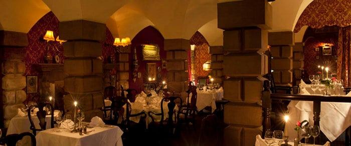 lumley castle dark knight restaurant