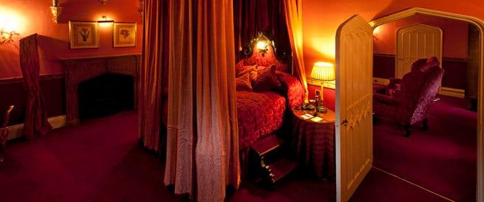 lumley castle king james suite
