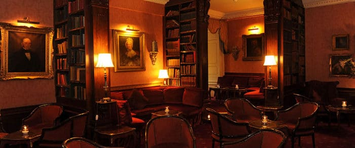 lumley castle library bar