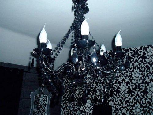schooner hotel chandelier