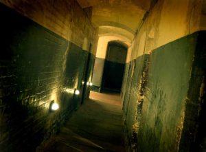 Cell Corridor at Night – Credit Mark Bassett low res