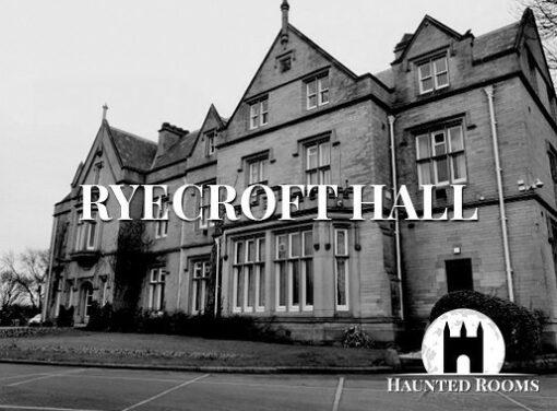 Ryecroft Hall Ghost Hunt, Manchester - Saturday 21st September 2019